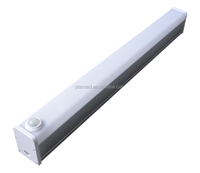 Factory Price Parking Sensor LED 40W 48W 60W Linear Light with White or Black Frame Tubes Light for Residentials