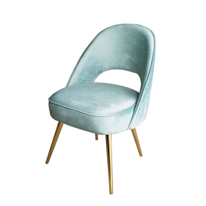customized <strong>chair</strong> modern design dinning <strong>chair</strong> velvet fabric wood leg gold stainless steel Nordic <strong>chairs</strong> for restaurant