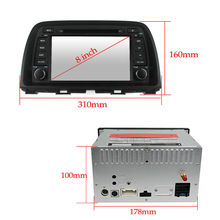 Android 4.4 Car DVD radio for Mazda CX-5 2013 / 2014 with steering wheel control GPS 3G Wifi mirro link OBD TPMS