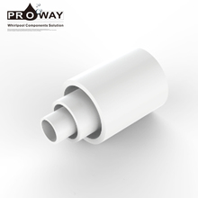 Plastic Fitting Connectors Equal Coupling Bathtub Parts PVC Pipe Socket