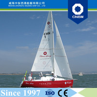 CE Certification and Fiberglass Hull Material 7.99m 26ft Sailboats with Prices