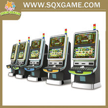 New design 2015 arcade amusement gambling jackpot slot game machine for bar with low price