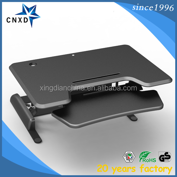 Chinese top quality adjustable standing desktop/computer workstation