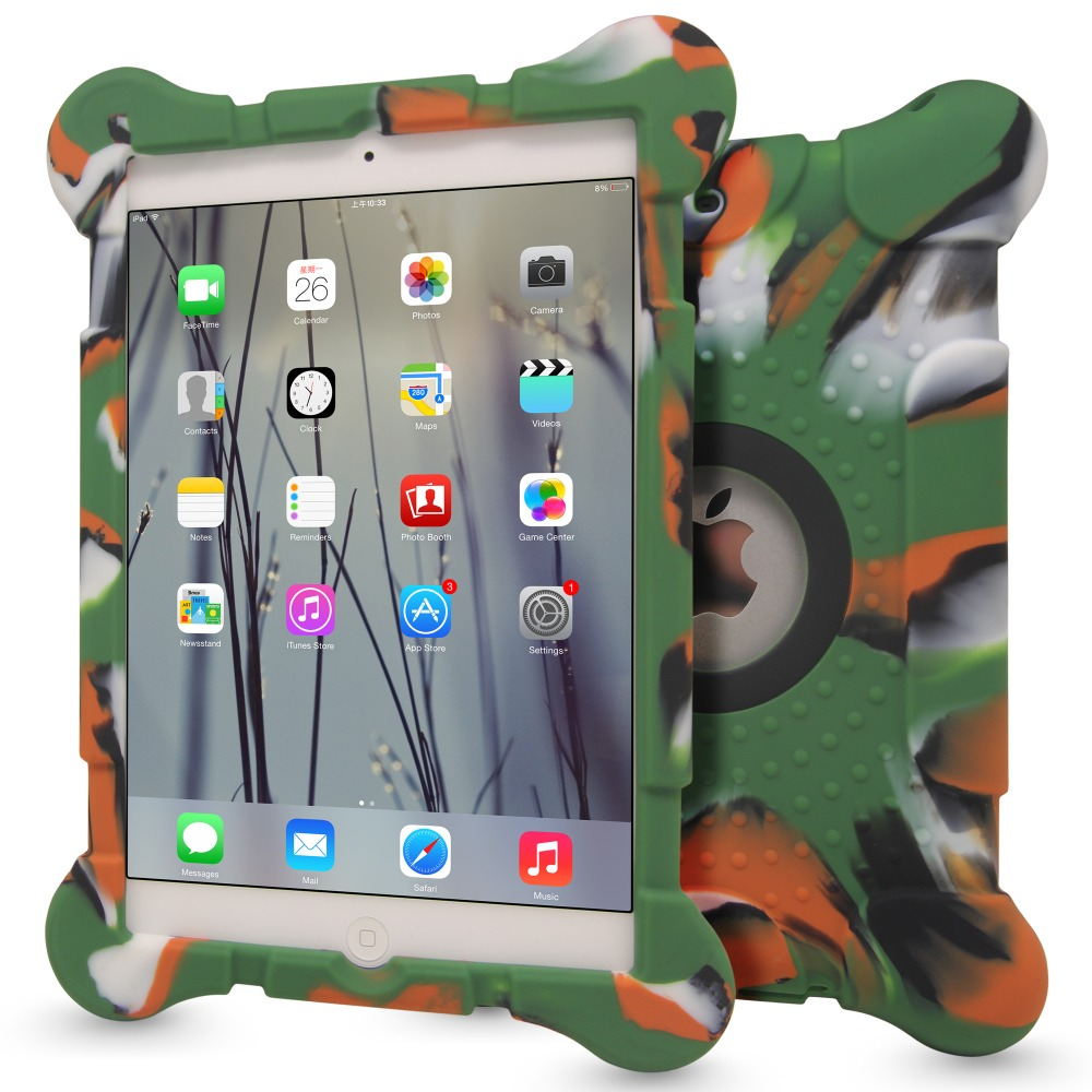 Alibaba low price silicone case for iPad 2/3/4 , For iPad case silicone OEM custom design case