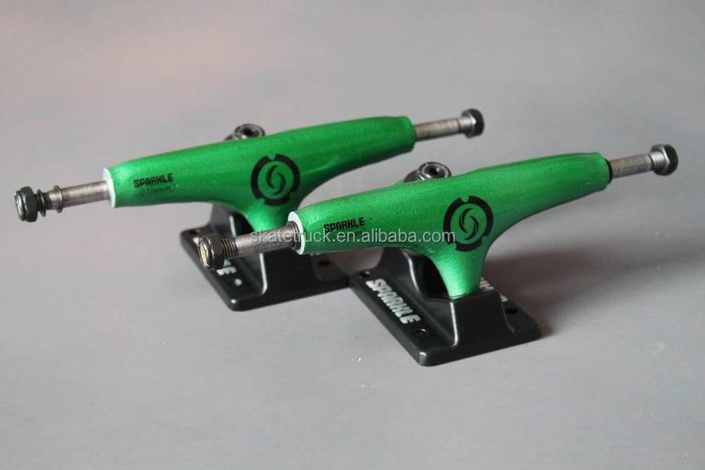 "Sparkle MID Longboard Trucks Classic Series Green Color (4.75"" 5.0"" 5.25"" 6.0"")"