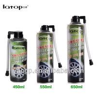 450ml tire sealer and inflator for car tire doctor repair tire