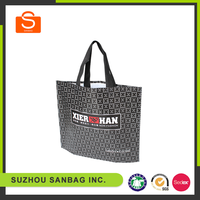 Promotional PP non woven shopping bag sealed,matt laminated bag