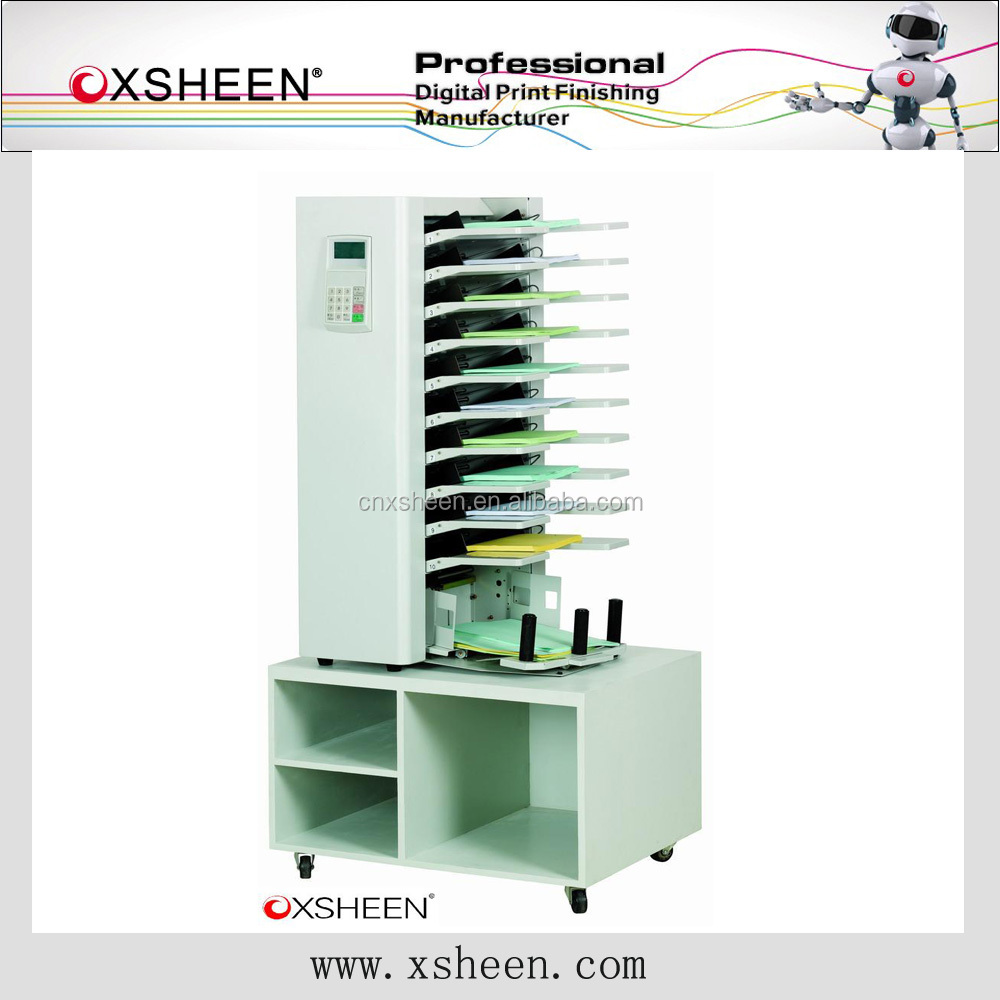 booklet making machine a3 a4 paper collator machine