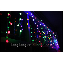 Christmas decoration LED icicle light with ball