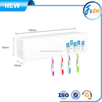 High Efficient Disinfection Home UV C Toothbrush Sanitizer / Sterilizer