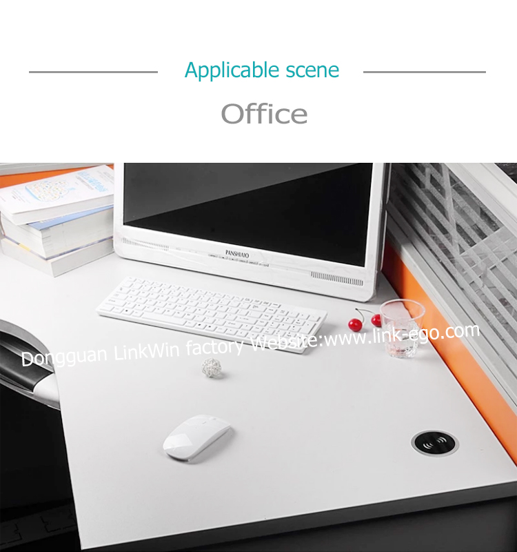 Bureau chargeur sans fil intégré mobilier intégré qi chargeur sans fil - ANKUX Tech Co., Ltd