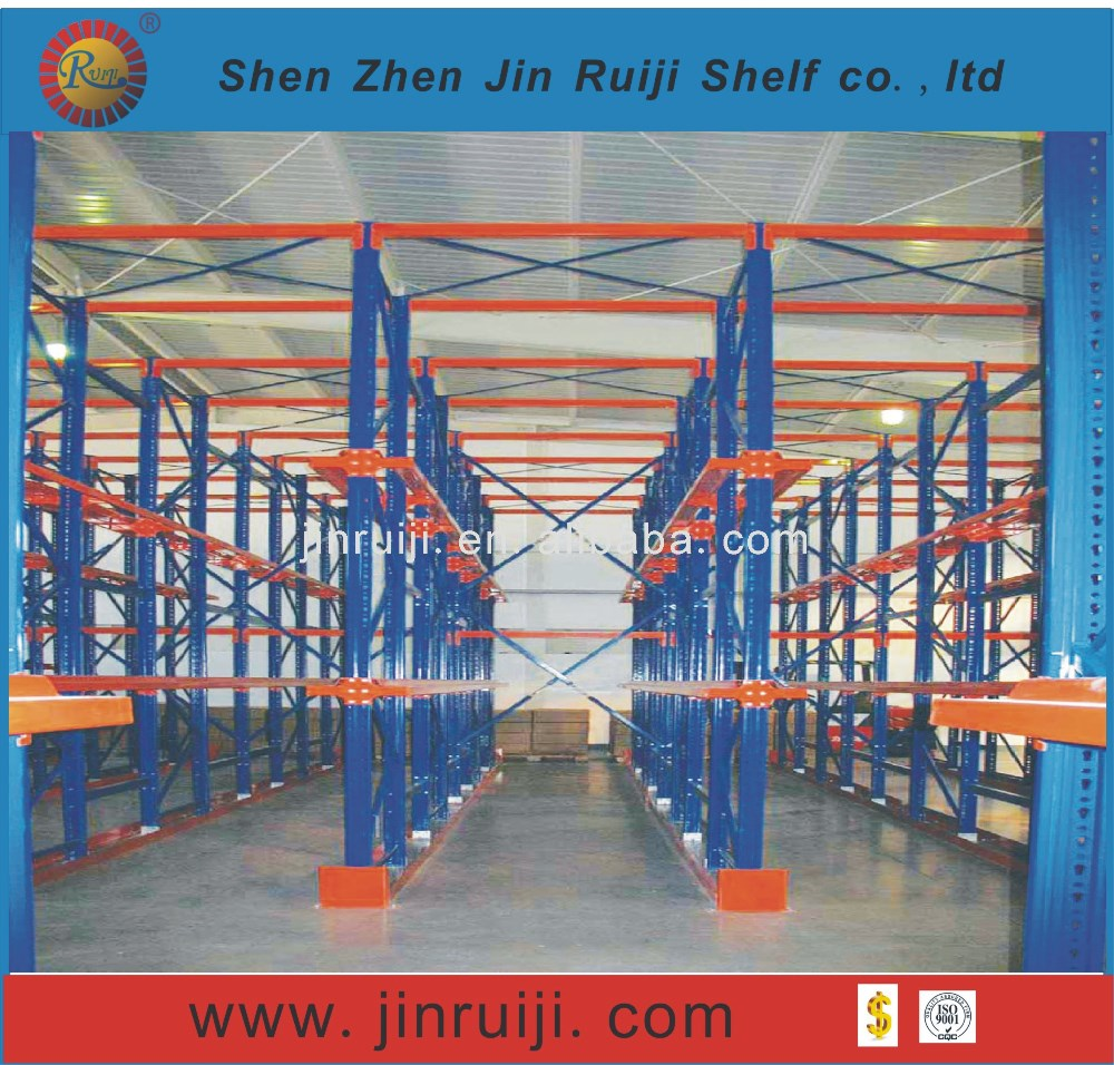 Warehouse shelving adjustable pallet racking system price