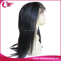 Stock hot selling cheap integration wigs with 100% remy human hair