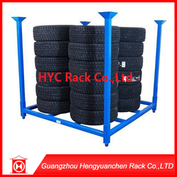 Hot pickling phosphating metal pallet stacking rack low price