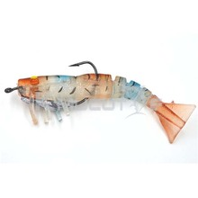 CS005 live shrimp lure soft plastic jointed body fishing lure for cuttlefish