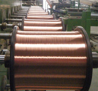 copper clad aluminum use as epoxy coated rebar tie wire 2016