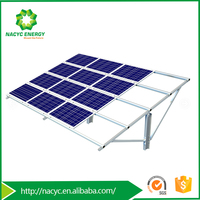 Cost-effective Pile-driven Solar Racking System MetisSP for Ground Solar Systems