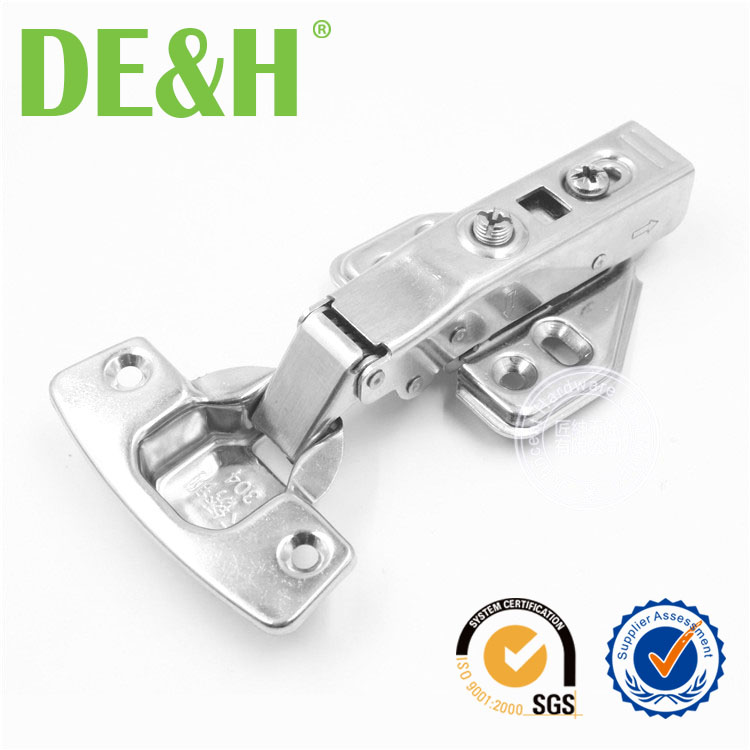 DTC type SUS304 Adjustable soft close cabinet hinge