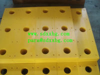 PE plastic dock bumper for warehouse protection Supplier