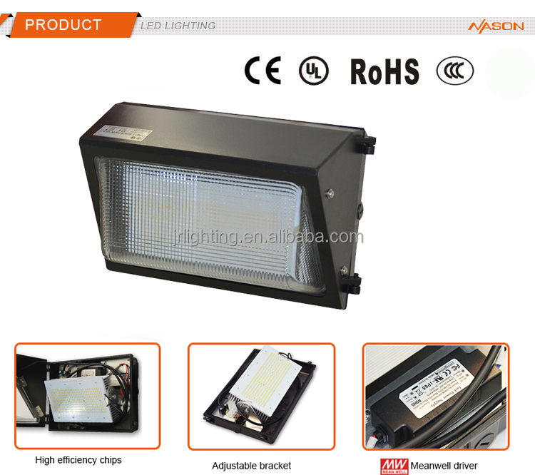 UL Approved LED Wall Pack light 40W 60W 90W