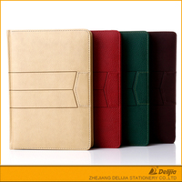 Handmade leather casebound journal diary notebook