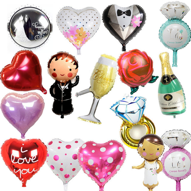 1 piece small Ring balloons party balloons wedding balloons wholesale38*27cm ring balloons(not include the stander)