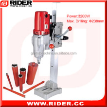 3200W electronic portable core drill diamond core drill kit