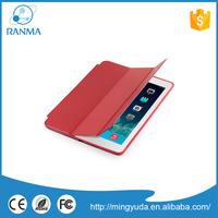 Shockproof pu leather cover universal flip case for ipad air