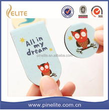 free sample magnetic bookmark,cartoon design metal book marks