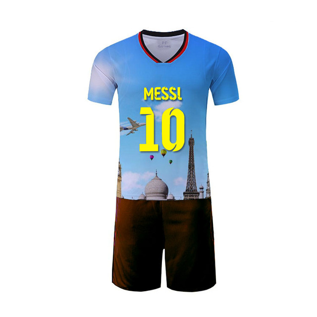 Wholesale sublimation printing soccer jersey ball unique balls clothing