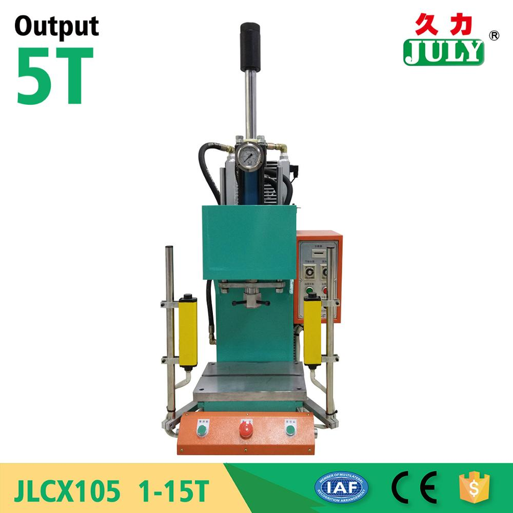 best seller JULY made top quality small desktop electric (manual) continuous tableting machine