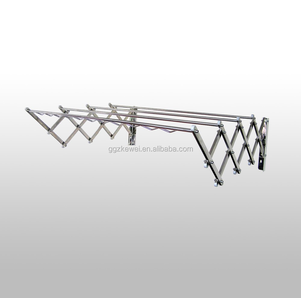 Stainless steel folding  cloth rack wholesale from manufacturer, good for towel dryer
