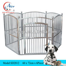6 piece steel dog cage/ dog pen