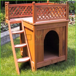 Nicely wooden pet dog house/wooden pet dog cage/bed for dog/HOMEX