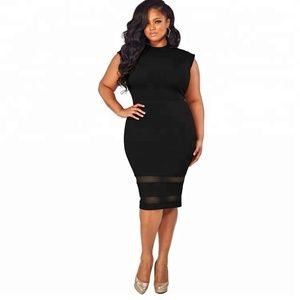 Summer Plus Size party dress for fat women