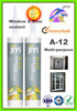 A-12 280ml GP silicone sealant for door and window