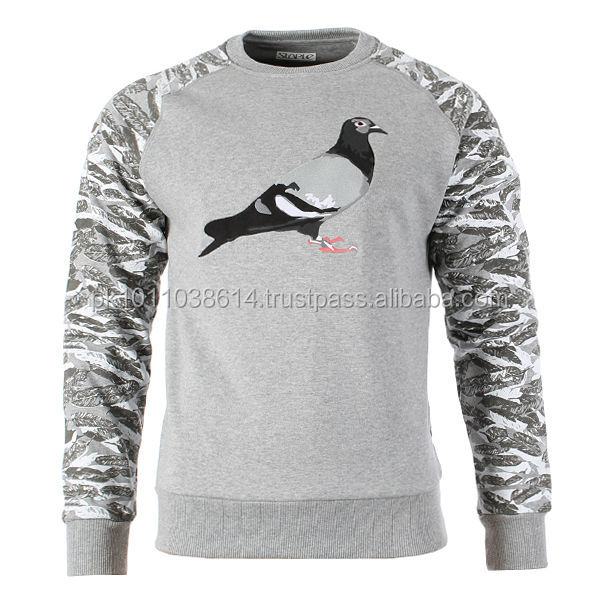 pigeon deign sublimation sweat shirt