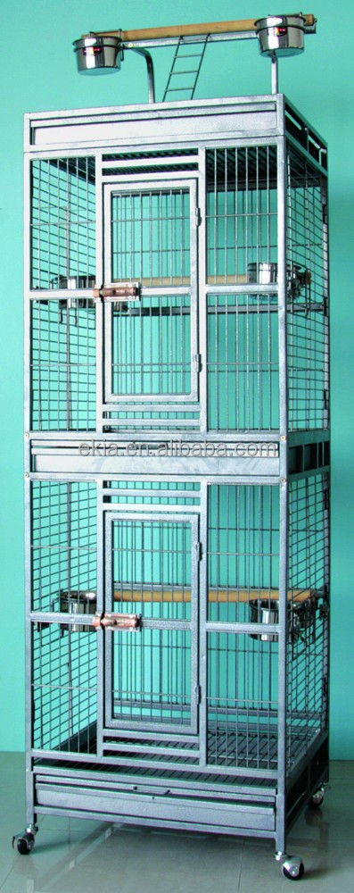 bird cage double Parrot cages bird cage