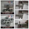 rubber seal or iron seal bearing deep groove ball bearing