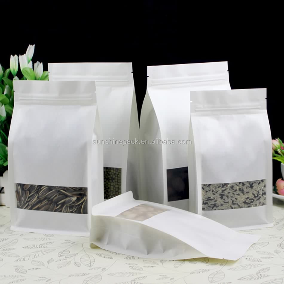 Wholesale customized available clear PE nylon pe zipper vacuum bag with side guasset