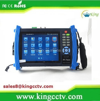 wifi ipc ptz tester lcd cctv security tester IP ptz camera tester 7 inch touch screen HK-TM806IPC