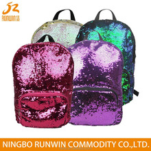 America Hot NEW Design Bag Fashion Custom Magic Sequin Sports Outdoor Camping Travelling Backpack