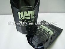 Small coffee bags/recycled coffee ziplock baggies/decorative pouch