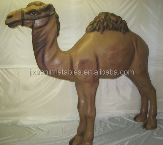 Inflatable camel cartoon/giant inflatable replica/inflatabel animal camel
