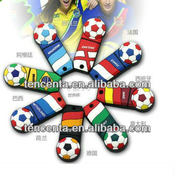2014 world cup unique design cute shape usb flash drive factory price from 256MB-16GB