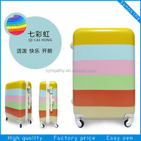 Fancy press-resistance newest design 24 inch trolley suitcase japanese luggage