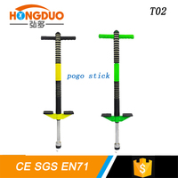 Child Adult Jumping Pogo Stick The
