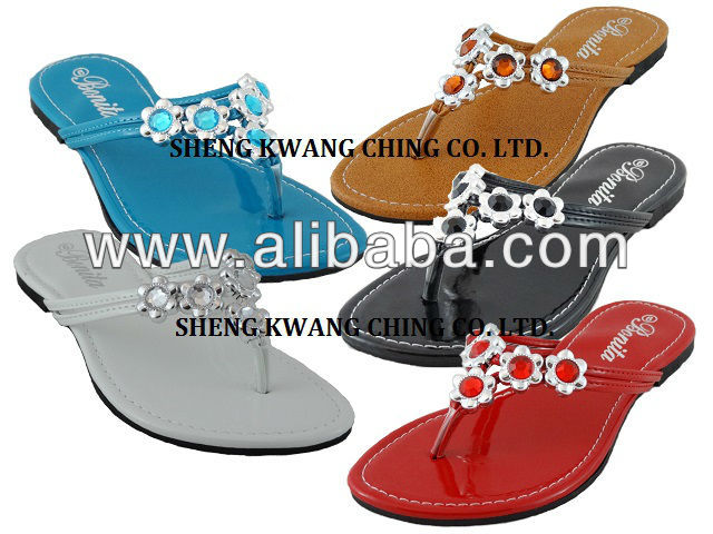 2014 Woman PU.PVC Flip Flops Slipper.Sandals.Zapatos