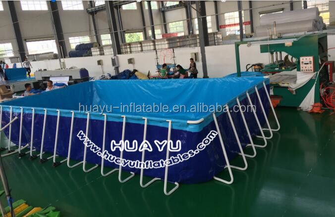 New product exciting swiming pool pvc frame pools/plastic water pool/water walker pool