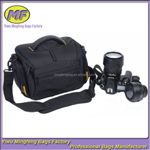 Factory Supplier Nylon Black Fancy Digital Cheap Camera Bag